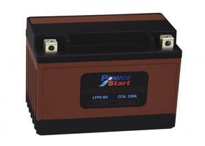China High Stablity Lithium Motorcycle Battery Super Low Temperature Cranking with BMS on sale