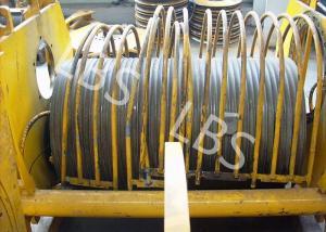 Quality Corde hydraulique de fil d'acier de treuil de grue de grue lourde faite sur for sale