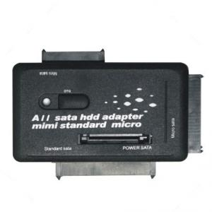 Quality SATA to USB2.0 adapter, Micro/Mini/Standard SATA suppot all SATA interface 885 for sale