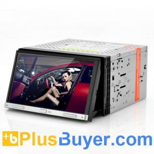 China Road Hog - Double DIN Car DVD Player with 7 Inch Touch Screen (Motorized Panel, GPS) on sale