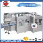 China Different kinds of supplier automatic bottle washing filling capping machine wholesale