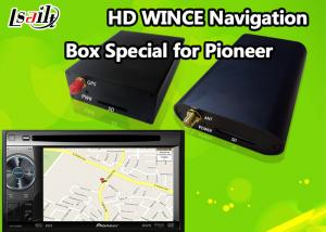 China Pioneer Car GPS Navigation Box for Support Stereo Audio / DVD / MP3 MP4 Based on WINCE 6.0 on sale