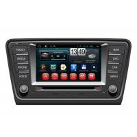 BT Radio 2014 Volkswagen Skoda Octavia A7 Central Multimidia GPS with GARMIN PAPAGO NAVITAL maps