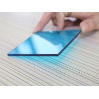 3mm Impact Resistant Polycarbonate Sheet , Blue Polycarbonate Sheet For Construction