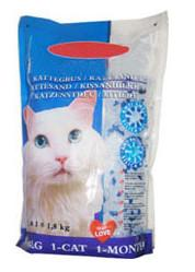 China Silica Gel Cat Litter 1-8mm with 3% Blue on sale