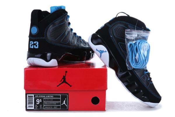 55f8996b0eff60 Cheap Air Jordan IX (9) basketball shoes Black Photo Blue-White 045 ...