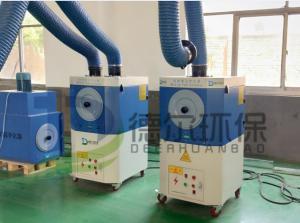 China energy saving environmental proetcion mobile weld fume extraction on sale