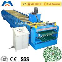 18 Rollers Precise Corrugated Roll Forming Machine Steel Sheet Barrel
