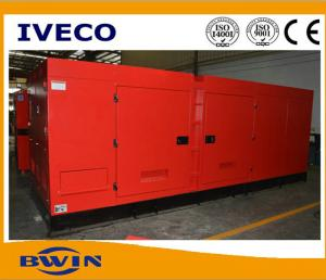 China 350kva Low Fuel Consumption IVECO Diesel Generator FPT Generating 280kw on sale