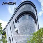 good quality Perforated metal cladding perforated facade panel