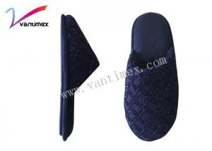 China Home Comfortable Cotton House Slippers / Warm House Ladies Bedroom Slippers on sale