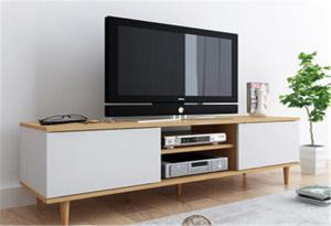 China Freestanding Indoor Storage Cabinets Long Solid Wood Tv Stands For Flat Screens on sale
