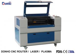 China Blue Up And Download Table Fabric Laser Cutting Machine For Thick Non Metal Cutting on sale