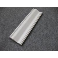 Embossed Foam PVC Skirting Board / Chair Rail 15mm Thickness Moisture Proof