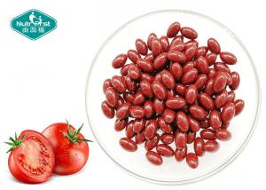 China Food Grade Tomato Extract Supplement Lycopene 10mg Softgels Supports Vascular Health on sale