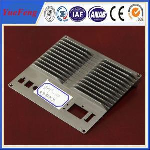 China CNC machined die casting aluminum extrusion heat sink(radiator) profiles on sale