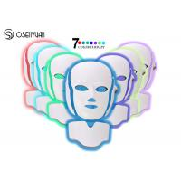 China 7 Colors LED Light Therapy Face Mask SPA Facial Rejuvenation / Anti Eye Wrinkles on sale