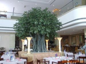 hall/hotel indoor landscaping artificial banyan tree for sale ...