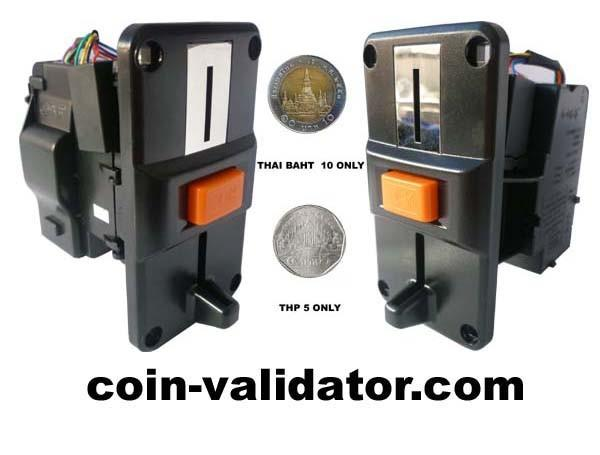 Thai Baht only coin validator Acceptor slot selector for sale – coin