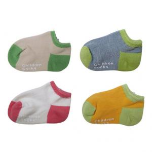 China Custom design, color terry cotton Baby Anti-slip Ankle Socks on sale