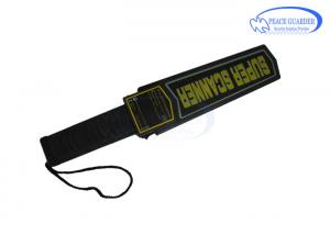 China Durable Portable Metal Detector With Belt / Battery For Airport Body Scanning on sale
