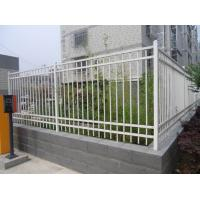 Galvanized steel pipe fence / Cheap wrought iron fence panels for sale / Fence panels square tubere Tube for Canada