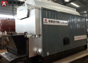 China Industrial Coal Steam Boiler Chain Grate Stoker 30 Ton For Textile Mill on sale