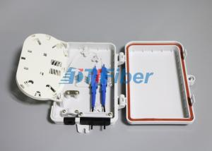 China 4 Core Fiber Optic Distribution Box For Outdoor FTTH Drop Cable Optical Termination Box on sale
