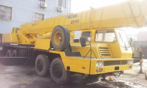 China XCMG Lorry Mounted Second Hand Truck Cranes Year 2009 With 3 Years Warranty on sale