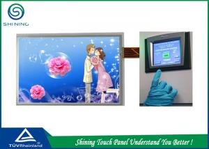 China Large LCD Touch Panel High Sensitivity / Five Wire Resistive Touch Screen on sale