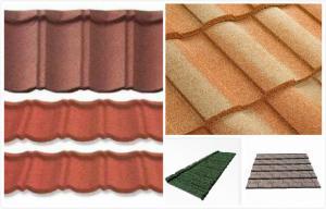 Decorative Double Roman Housing Exterior Roof Tiles Light