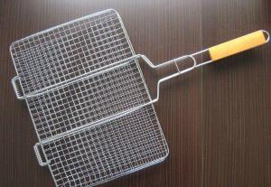 China Durable Barbecue Wire Mesh Screen , Sliver Stainless Steel Bbq Mesh 30m on sale