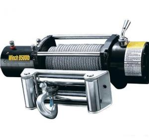 China 12v / 24v Electric Wire Rope Winch 2000lbs To 20000lbs For Vehicles on sale