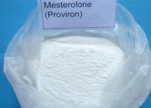 China Raw Steroid Powders Mesterolone CAS 1424-00-6 , Muscle Strength Male Enhancement Powder on sale