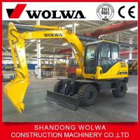China 10 ton wheel excavator  hydraulic excavator DLS100-9A for best selling on sale