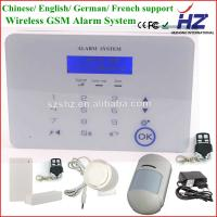 GSM3/4 Band wireless Touch keypad personal home security alarm