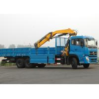China XCMG 12 Ton Articulated Boom Crane , Lorry-Mounted Crane with Good Quality on sale