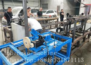 China PLC Control Fully Automatic single wire Chain Link Fence Machine fast and efficient on sale