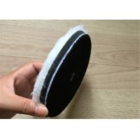 Single Side Wool Cleaning Foam Buffing Pads Wear Resistant For Car And Glass