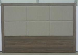 Quality Cabeceros tapizados del estilo del hotel, tablero trasero de madera de la cama for sale