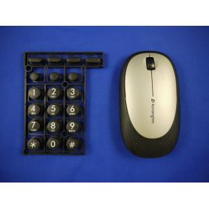 China Overmold Keyboard  / PC wireless Computer Mouse in overmolding plastic on sale