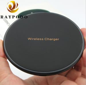 China Fast Wireless Cell Phone Charger Pad 10W QI Standard With CE ROSH FCC Approval on sale