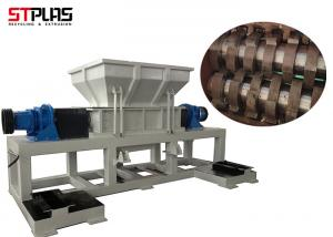 China Two Shaft Bottle Industrial Plastic Shredder STPLAS ST2 Machinery For Large Capacity on sale