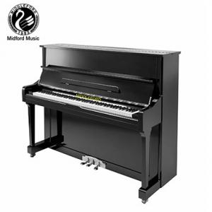China Middleford Black Polished Home Acoustic Upright Piano UP-121E For Sale on sale