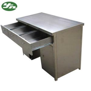 China Stainless steel cleanroom workbench anti-static worktable with the drawer on sale