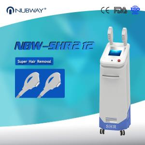 China FDA approval NUBWAY best selling big spot size most popular SHR hair removal machine on sale