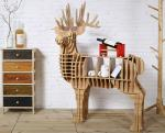 Wonderful Fashion 3D MD Shop Display Shelving With Different Animal Shape