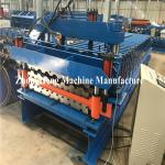 Double Deck Glazed Tile Roll Forming Machine With Hydraulic Motor Control 25m/Min