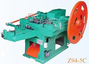 China High Speed Wire Brad Nail Making Machine For 1-6 Inch Wire Nails on sale