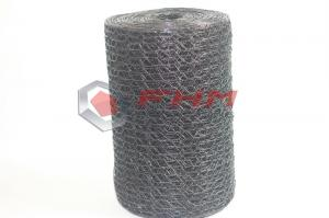 China 1 Inch Black PVC Coated Hexagonal Mesh 18 Gauge Wire Wholesale from Professional Manufacturer on sale